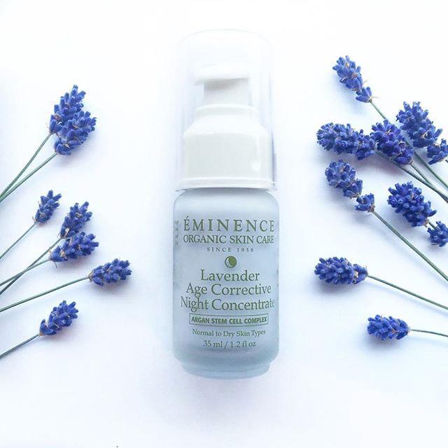 Eminence's organic skin care