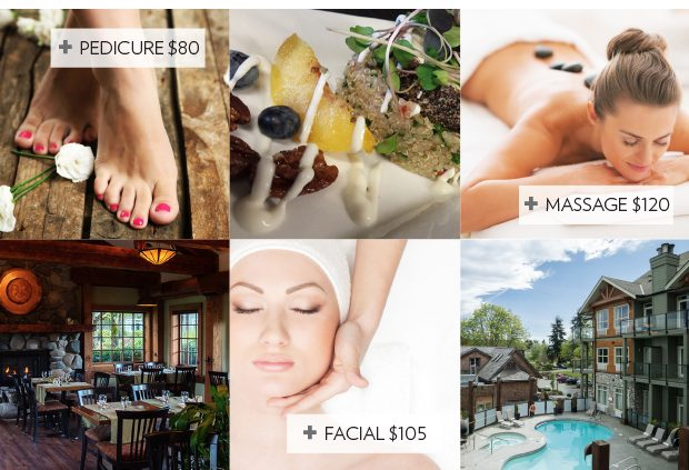 Lunch and Spa at Ohspa