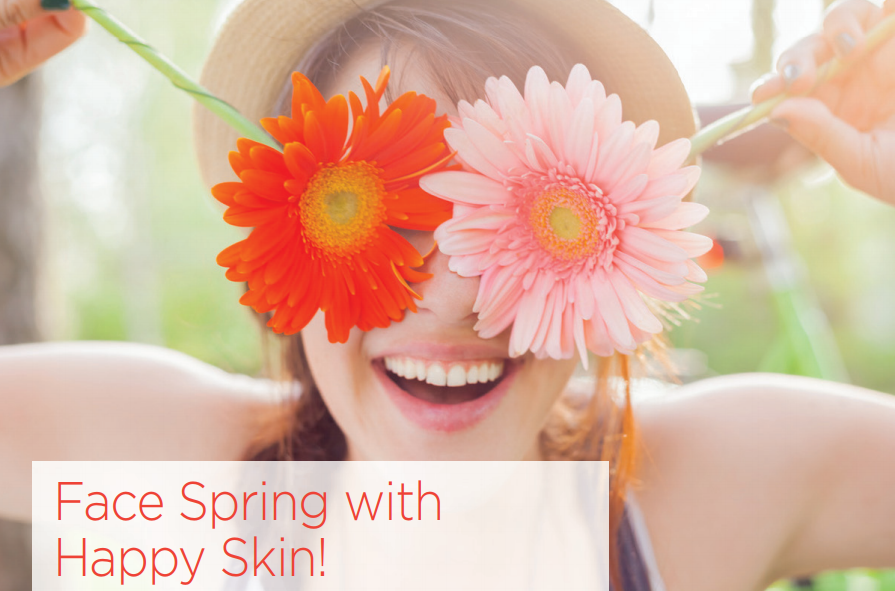 Face Spring with Happy Skin!