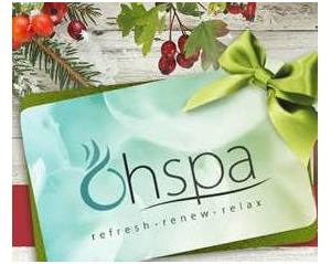 Spa Gift Certificates for Christmas